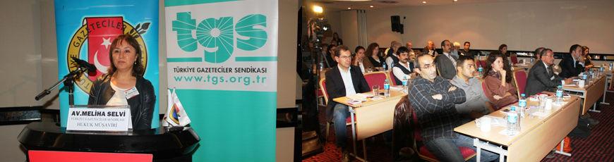 TGC-TGS Basın İş Kanunu Değerlendirme Toplantısı düzenledi: